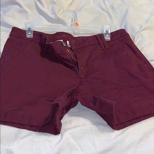 Arizona Shorts Burgundy